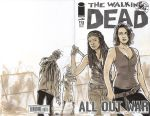 Walking Dead Sketch Cover by timshinn73