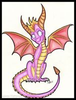 Little Purple Dragon by AudioSonora