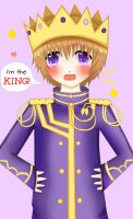 Claude: I'm the king! by Blissyanya
