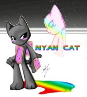 EPIC NYAN CAT by WhiteFox89
