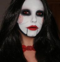 Billy the puppet from Saw Makeup by me :) by marymakeup