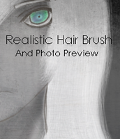 Realistic Hair Brush by Kamonmile-Tea