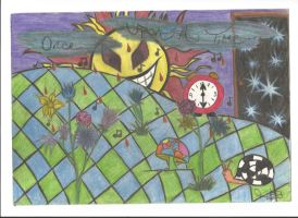 Tribute to Evanescence 'Imaginary' drawn 2008(OLD) by TJSS08