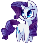 Rarity Derp by Zoiby
