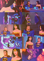 Young Justice: Superman/Wonder Woman by TouchofMink2