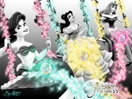 Princess Magic - Wallpaper by Alce1977