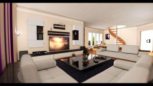 Living Room Wide Angle by DonMichael71