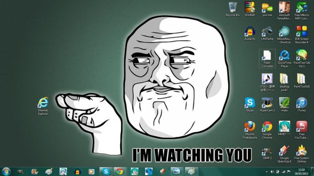 My desktop background at the moment by mayahatsune