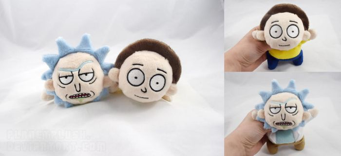 Rick and Morty Kuttari by PlanetPlush