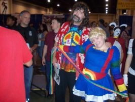Hanging with Mick Foley by Lady-Tigress