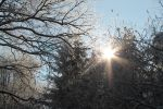 Sun and snow at the Efteling. by Romyyxx
