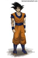 Son Goku by Kermad