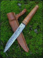 Viking Seax by Half-Goat