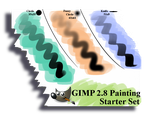 GIMP 2.8 Painting Starter Set by PkGam
