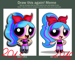 Draw again - Paige by xXPudding-CakeXx