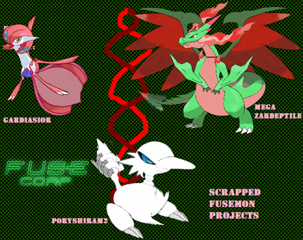 Scrapped Fusemon Projects by TyrantVenusaur