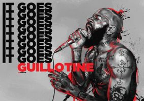 Death Grips - Guillotine by rcrosby93