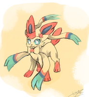 Sylveon by LizardonEievui13