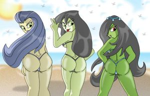 B.Gift Beauties x 3 by XJKenny