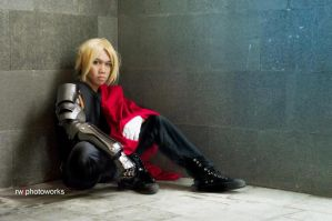 Edward Elric Cosplay by takeoh13