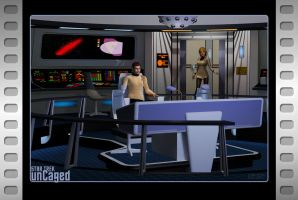Cage 2.0 - Welcome to the bridge, Commander by Ptrope