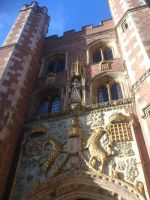 Great Gate of St John's College, Cambridge by BlastedFen