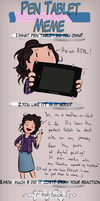 Lucylips Pen Tablet Meme by LydiaHopeDaulton