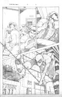 Spider-Man Family Pg 6 Pencils by RAHeight2002-2012