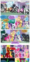 Sun Setting Misfortune: Princesses to the Rescue by teammagix