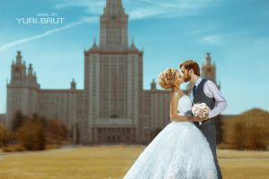 wedding in moscow by yuribrut
