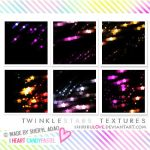Icon Texture: Twinkle Stars by shirirul0ve