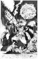Rocket Racoon by irongiant775