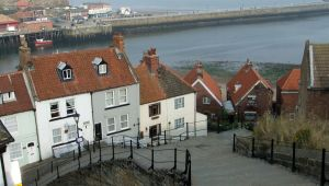 Whitby Steps by PaulineMoss