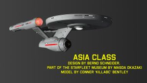 Asia Class DL 3DS Max by KillaBC