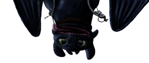 Toothless Oh Hai - No Background by Fragsey