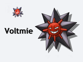 Pokemon Fusion - Voltmie by Detective-May