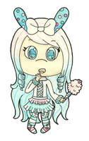 g: Minty Chibi by Cupcake-Kitty-chan