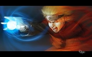 Fan art: sketch Naruto by theartofraku