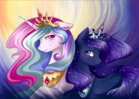 Two princess by Mausefang