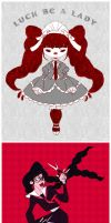 Dangan Ronpa Stuff by It-is-a-circle