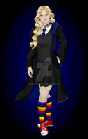 Luna Lovegood by Fefe1414