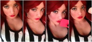 Katarina - Makeup Teaser by AnaGraceCosplay