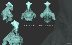 Alien Concept 1.1 by Phosforced