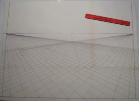 2 pt. perspective grid by Joe5art