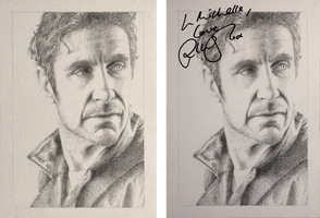 Drawing Doctor Who Project- Paul McGann by Atarial
