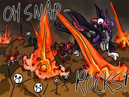 OH SNAP - ROCKS by pointytilly