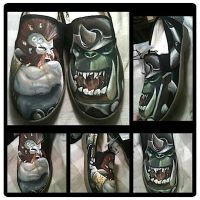 Warhammer Shoes by LovelyDear