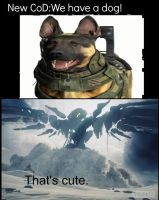 CoD Dog Vs Halo War Sphinx by Turbofurby