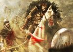 Coltaine rides out by slaine69