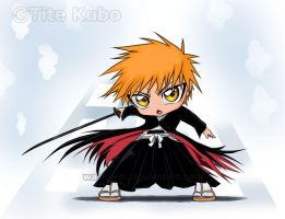 Chibi Ichigo by Washu-M Color by WolfSpiritZERO